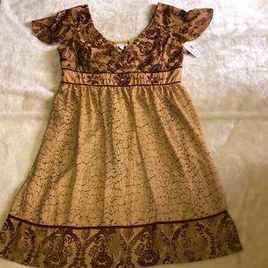 NWT Dressbarn V-Neck Dress